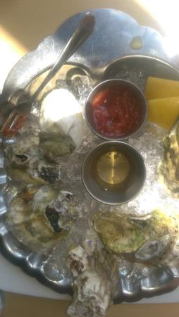 Old Port Sea Grill: 1/2 dozen oysters - were delicious!