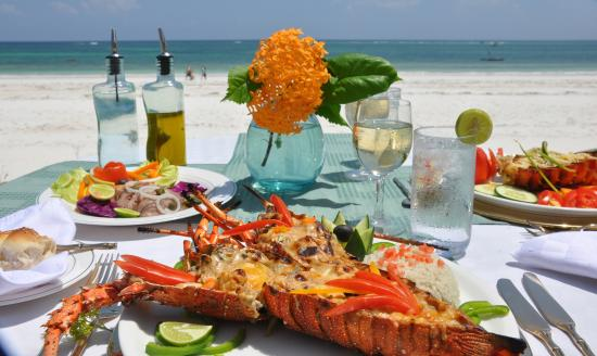 Ocean Village Club: Lobster Thermidor