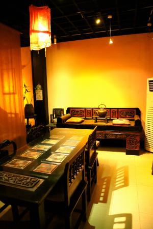 Inneneinrichtung des Pure Lotus Vegetarian Restaurant