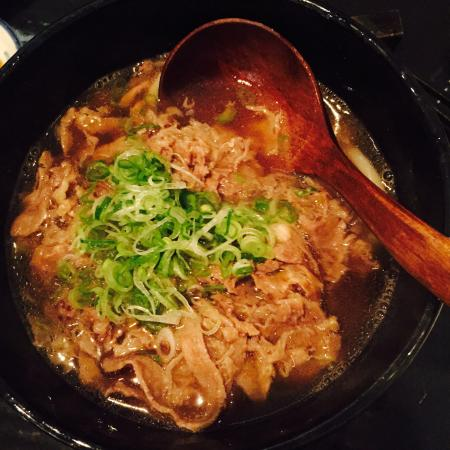 Niku Udon - so delicious! - Picture of Tokyo Retro, London ...