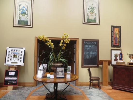 Camlachie, Canadá: Foyer area