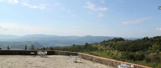 Podere Castellare - Eco Resort of Tuscany: The view