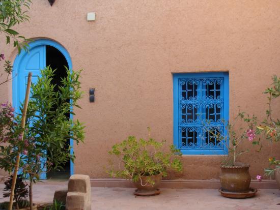 El Kelaa, Marruecos: vue sur le patio