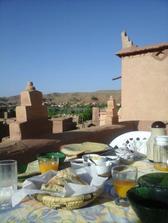 El Kelaa, Marokko: petit déjeuner de rêve