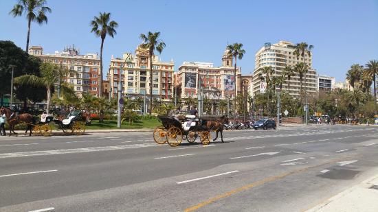 Plaza y Acera de La Marina : Plaza de la Marina