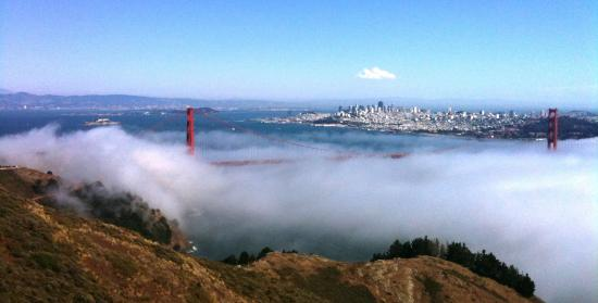San Francisco, CA: Fog Rolling Through the Golden Gate