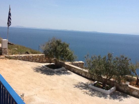 Sarris Planet : Vue de notre terrasse