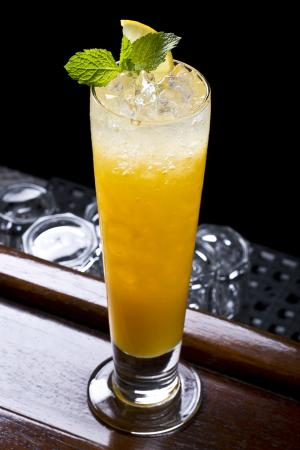 Passion fruit Collins