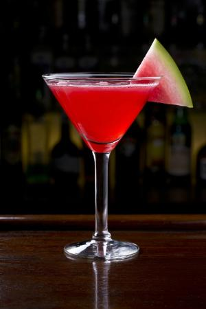 Watermelon tini