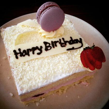 Complimentary birthday cake Picture of Sofitel Bali Nusa Dua Beach