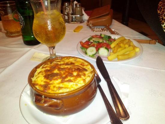 Bonanza Restaurant: Fresh made Moussaka