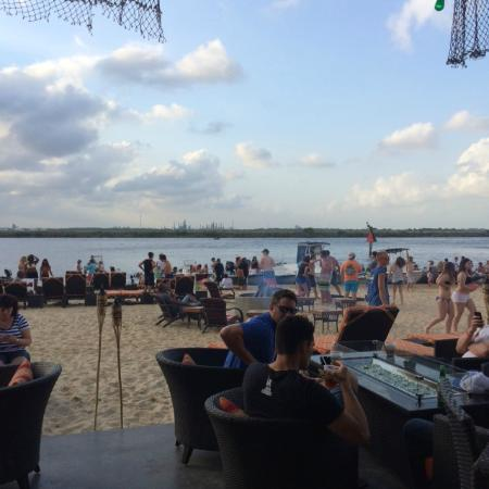 Golden Nugget Hotel Beach Area