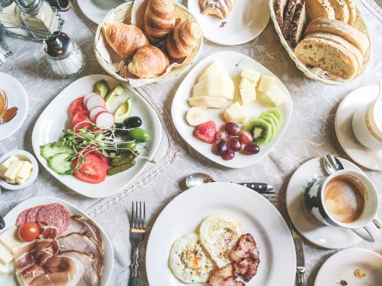 Talsi, Letonia: Amazing breakfast in cozy little hotel will make you feel so happy