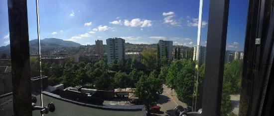 Hotel Bristol Sarajevo : A view from the room on 4th floor