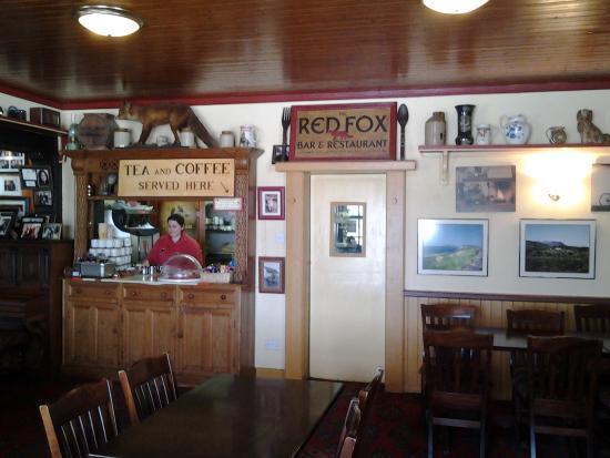 The Red Fox Inn: interior view