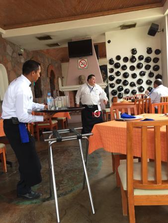 Real Pueblo Bonito: Beautiful restaurant