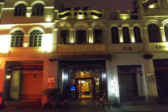 Haikou Zhongshan Road : Sino-Portugese architecture