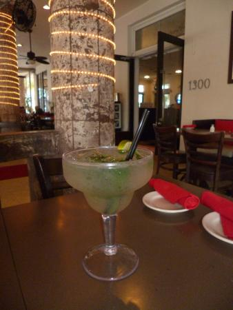 "Huge ""mojito"" at Cardozo Bar & Grill in Miami Beach"