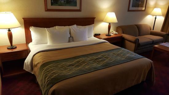 Comfort Inn & Suites: Deluxe King Room
