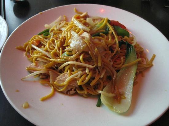 Chantek: Fried Hokkien Noodles with chicken