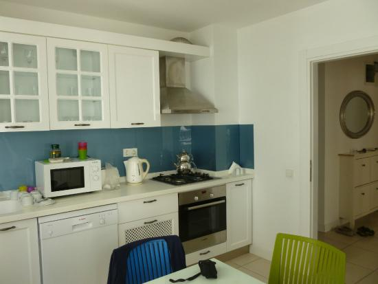 The Room: kitchen
