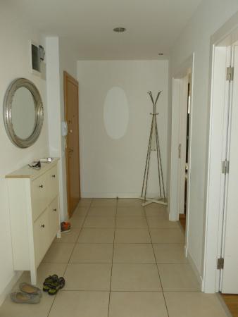 The Room: hall entrance