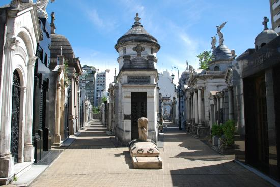 مقبرة ريكوليتا