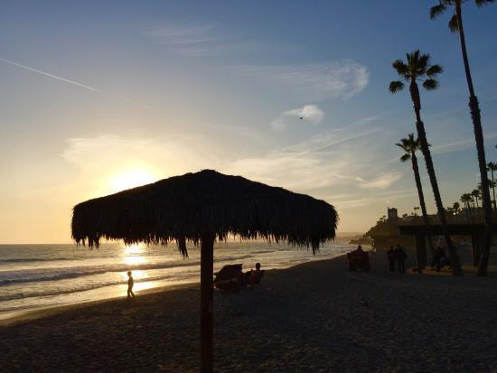 San Clemente, Californien: View by pier
