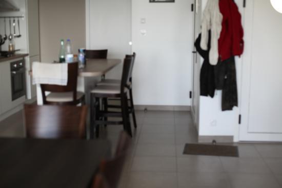 La Residence Belle Plage: vue du salon