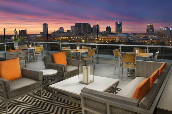 Fairfield Inn Suites Nashville Downtown The Gulch Spectacular View From Up A