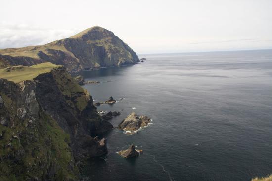 Clare Island cliffs
