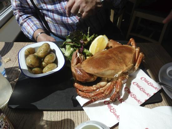 Crab Shack Gorey: Crab for lunch