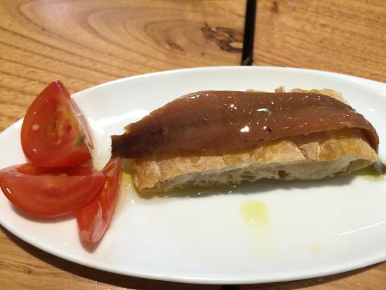 La Pepona - TEMPORARILY CLOSED: Anchovy on Toast