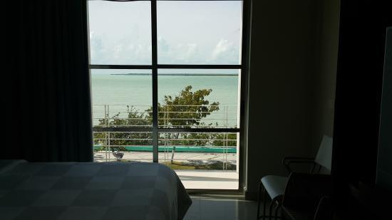 Hotel Noor: Vista desde el Balcon de la habitación