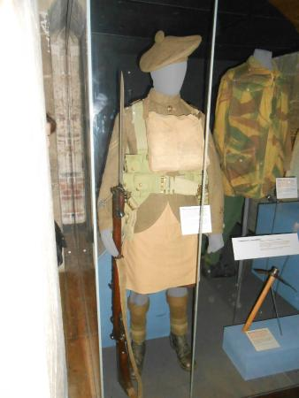 National War Museum of Scotland: Guarda Escocesa