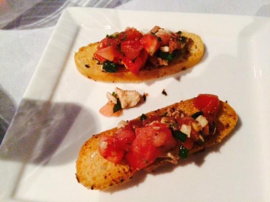 A la Lucia: complimentary treat