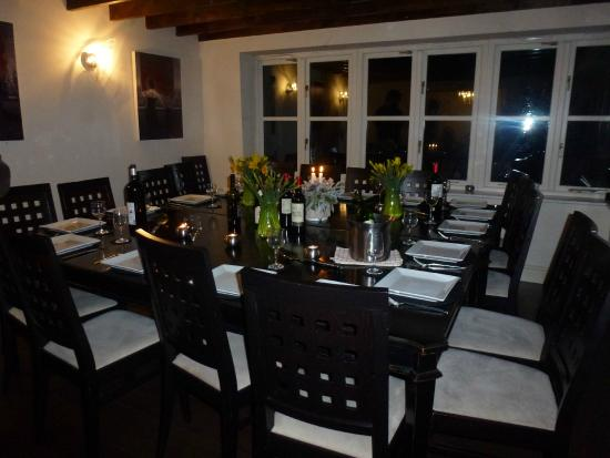 The Purbeck Vineyard : Dining room