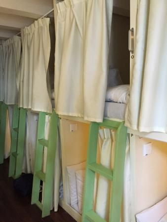 Matchbox The Concept Hostel: Pods