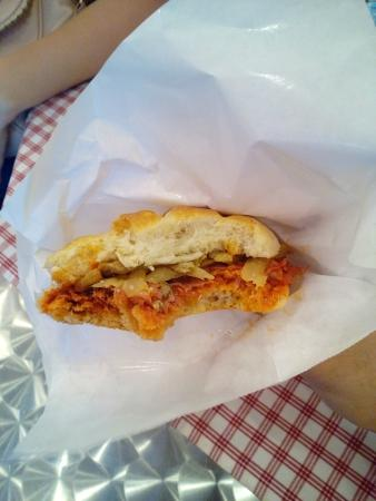 Signor Panino : Picante pannini (with spicy salame)