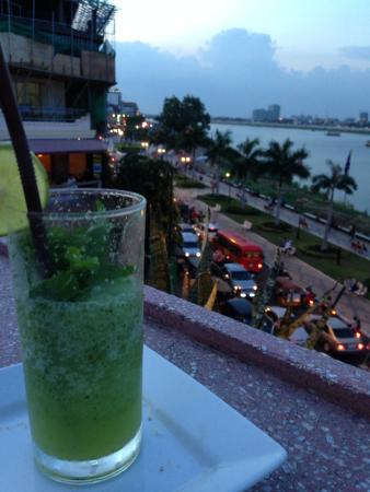 FCC Phnom Penh: View from the bar on the top floor