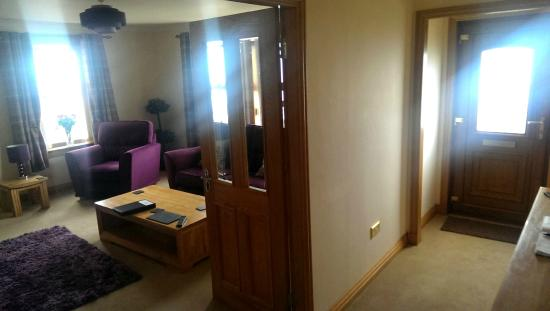 Cairnryan Bed and Breakfast : view to living room