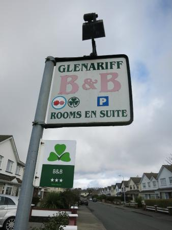 B&B Glenariff : B&B Sign