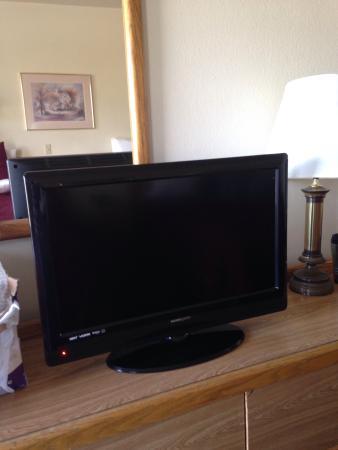 National 9 Inn: Flatscreen tv