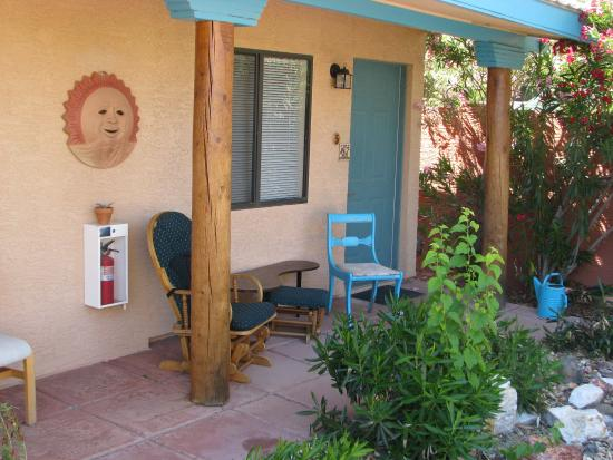 My Place Suites : vor einem Zimmer im hinteren Bereich