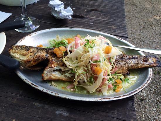 Bacchanal Fine Wine & Spirits: Grilled fish