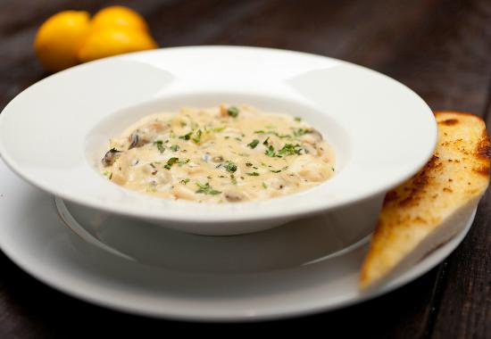 The Grand Cafe: Seafood chowder