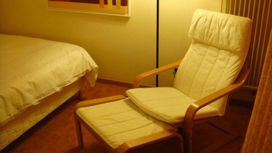 Parc Plaza Hotel Luxembourg : A relaxing chair