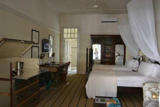 Victoria Falls Hotel Deluxe Stable Room
