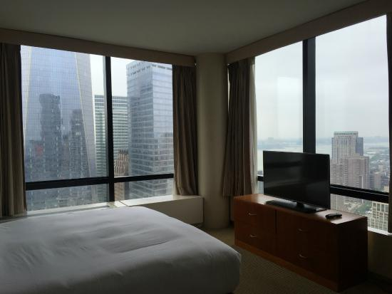 King Master Bedroom North West Corner Picture Of Millennium Hilton New York Downtown New York