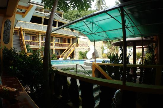 Palangan Bayview Beach Resort: View from outside our room